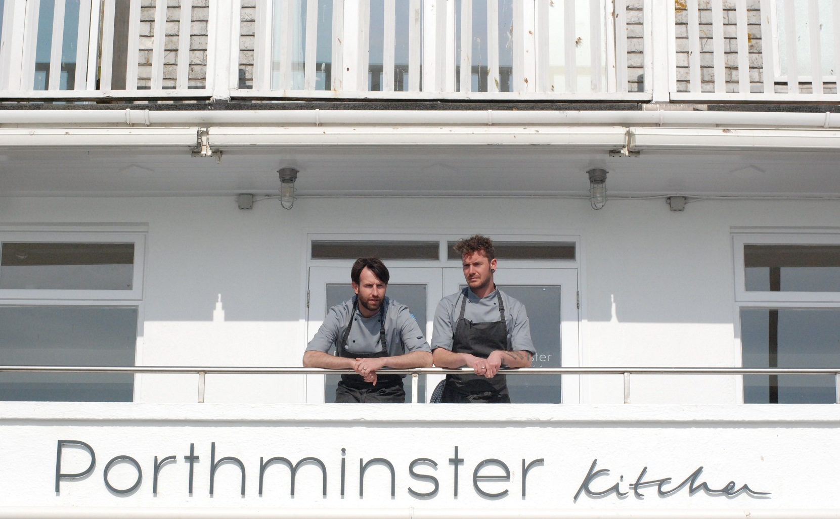L-R: Michael Smith (executive chef) and Lee Wilson (head chef)