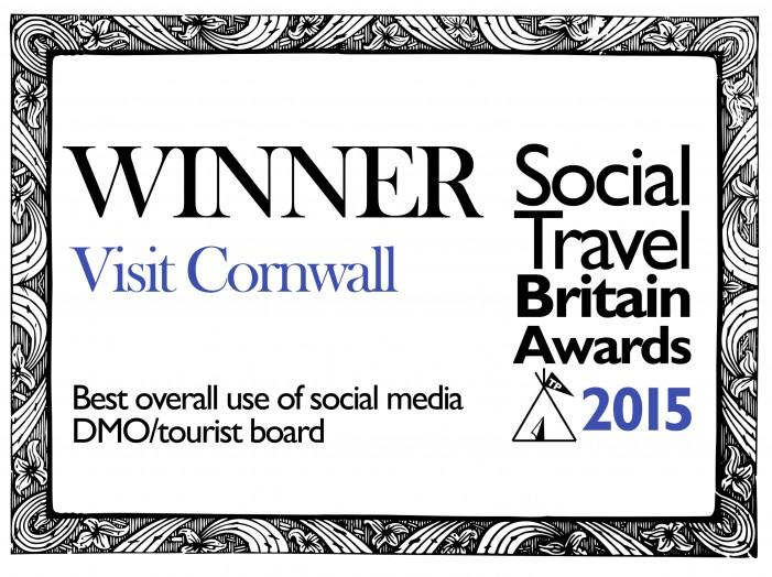 Top tourist board for social media