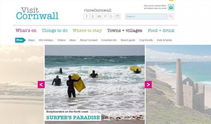 Tourism service website tender