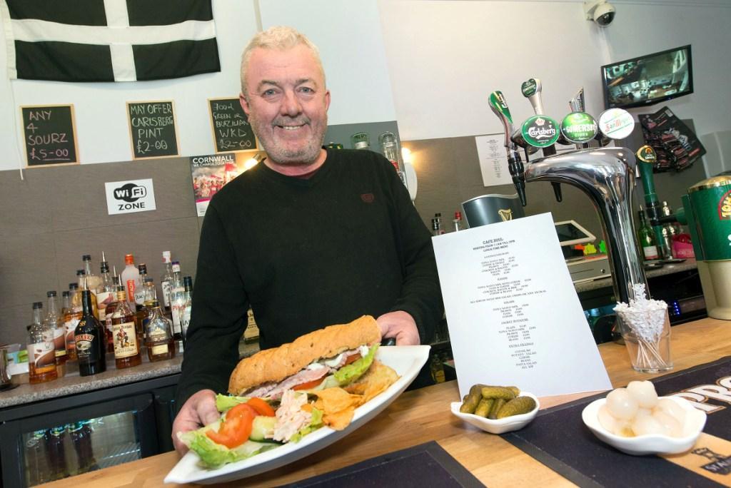 Cafe Soul owner, Jon Stoneman