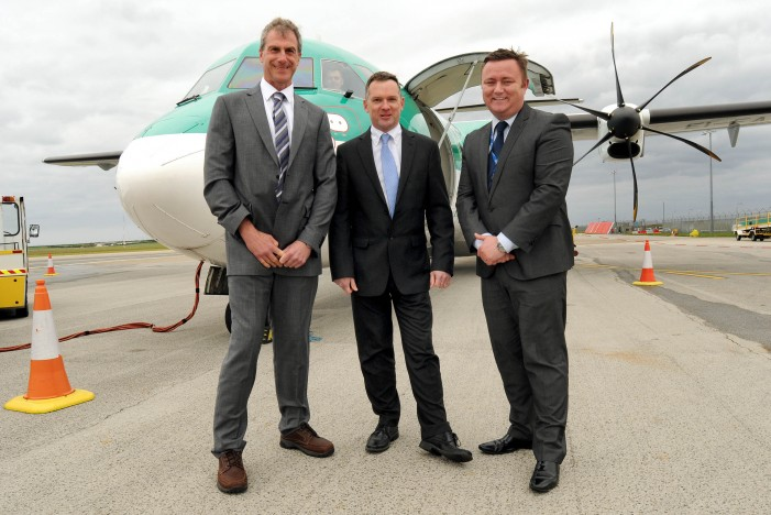 New Dublin route takes off