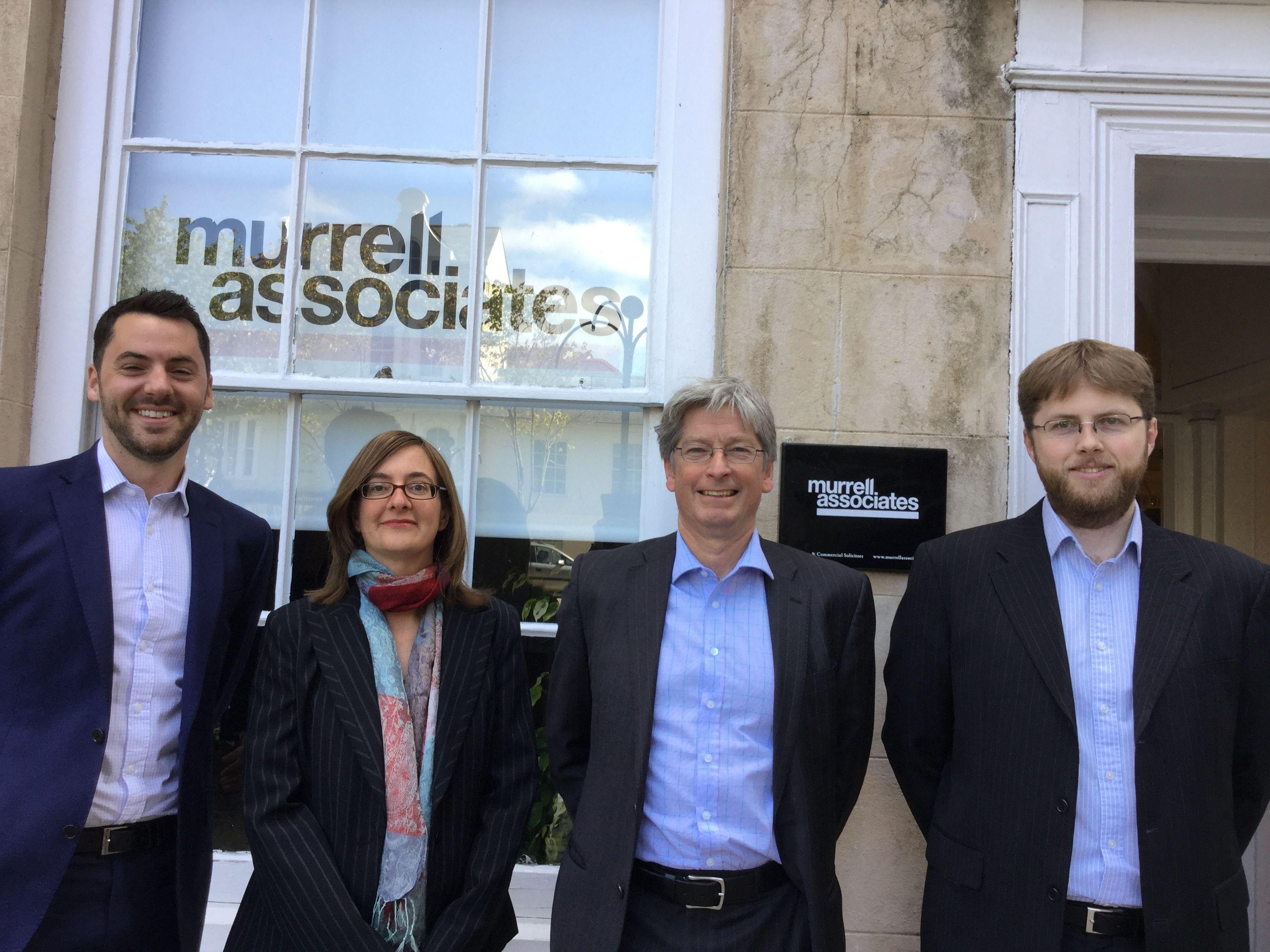 L-R: Matt Kendall, Jenny Harbord, Hugh Murrell and Chris Will
