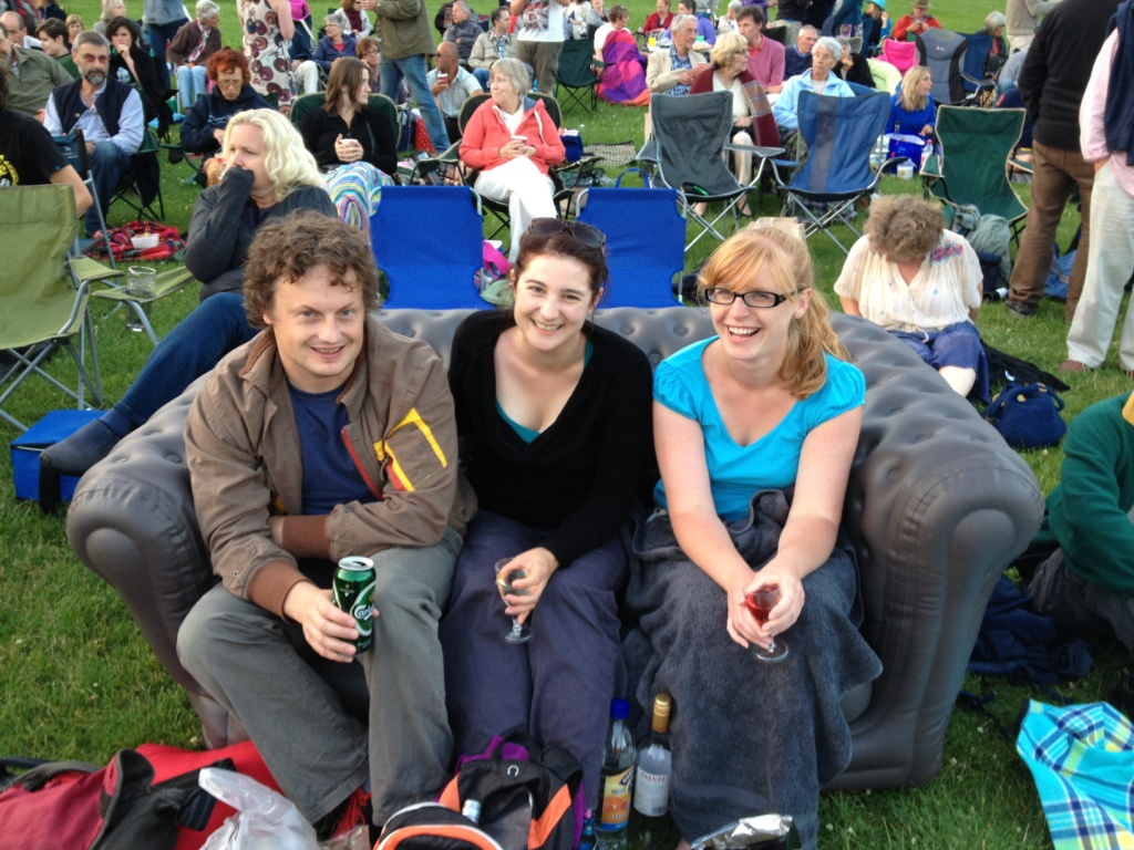 Maumbury Classic Winners Rachel Stretton, Catherine Bolado & Geoff Jarvis