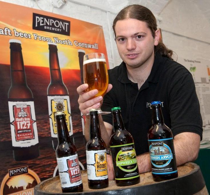Penpont head brewer, Joe Thomson