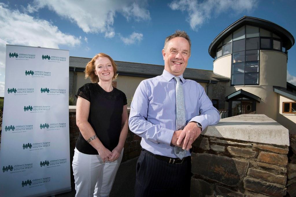 Robert Camp  and Sarah Stott (Co-operative Partnerships Fundraiser)