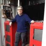 Martin Barlow and the biomass boilers
