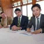 1. Signing of the Memorandum of Understanding
