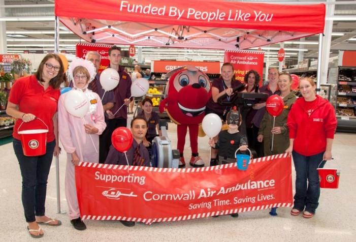 Sainsbury's supports air ambulance