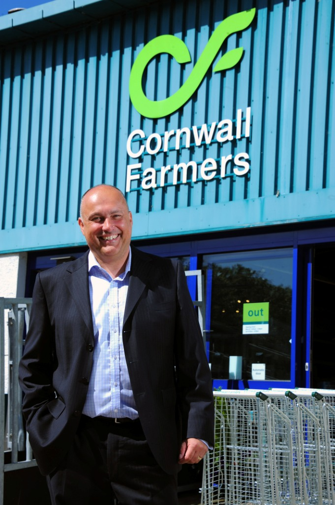 Cornwall Farmers CEO, Simon Birch