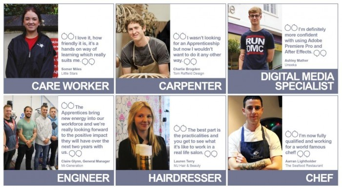 Who is apprentice of the year?