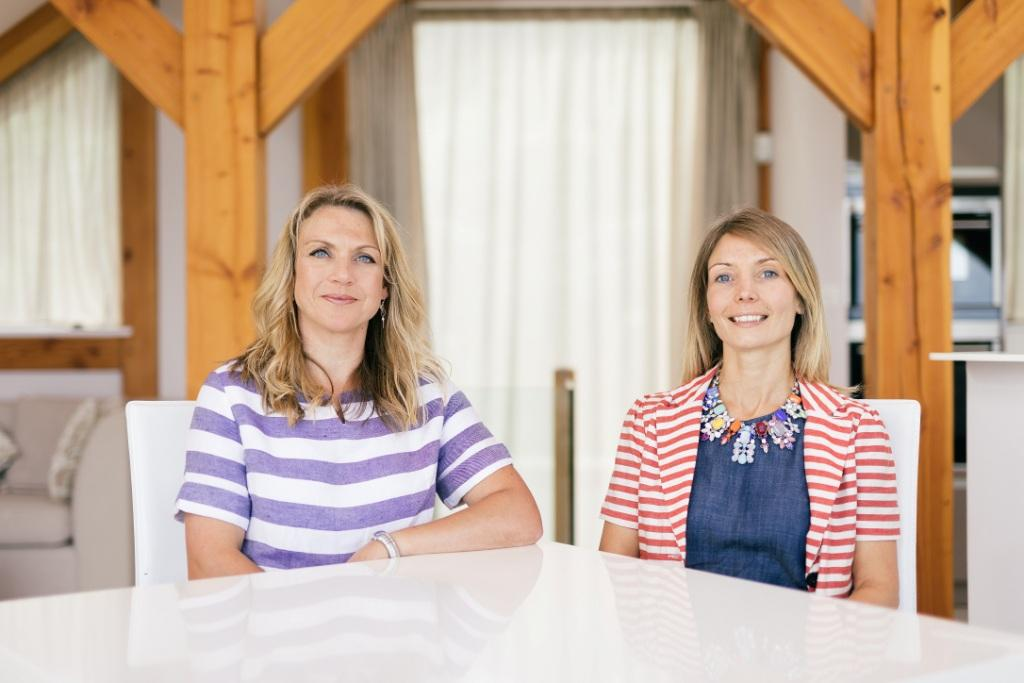 Cornish Gems directors Julianne Shelton (l) and Nadia Macer-Wright