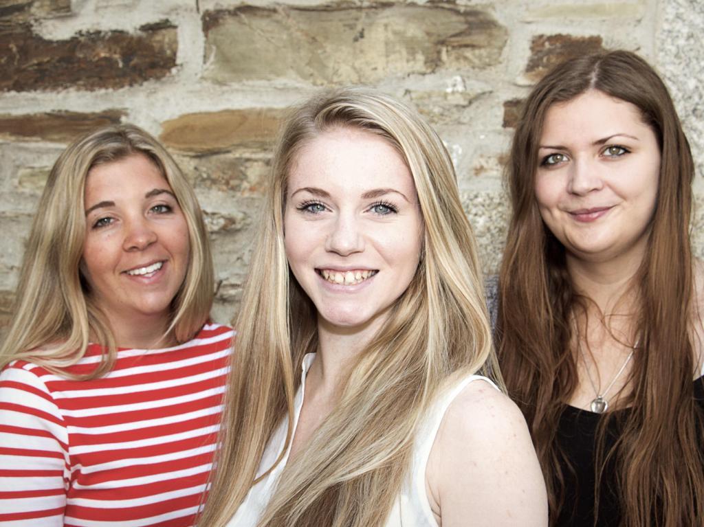 L-R: Lang Bennetts apprentices Anna Garside, Ellen Curnow and Kate Cooke