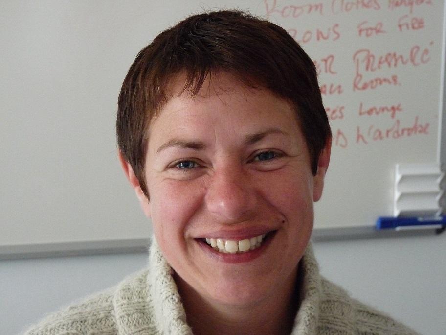 Annie Woollock - new volunteer co-ordinator