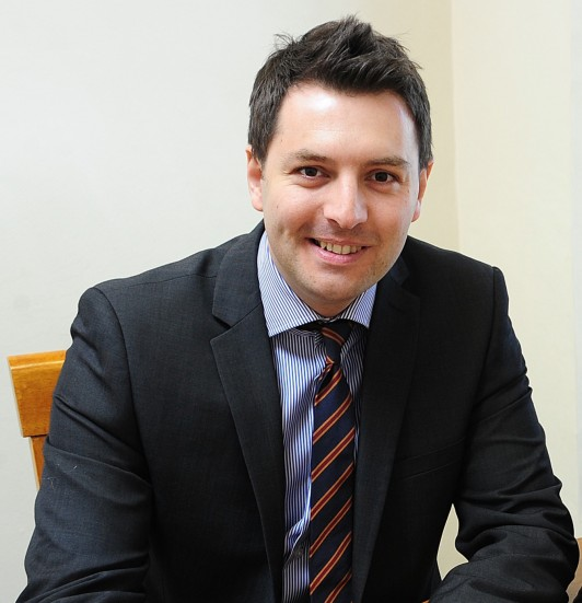 Chartered financial planner Chris Rowe