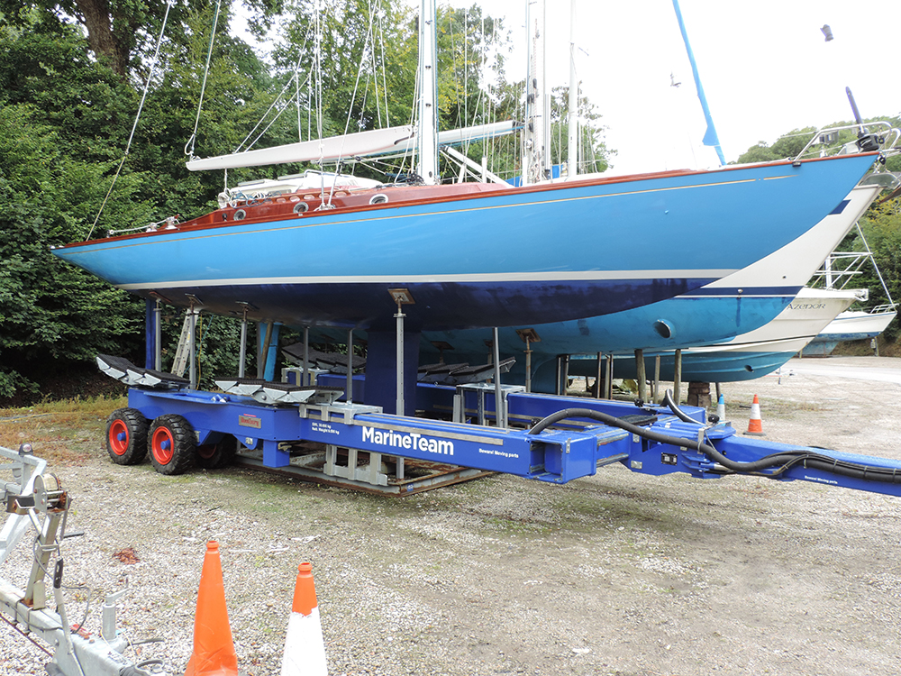 MYH new Roodberg HBC38 boat transporter - high res