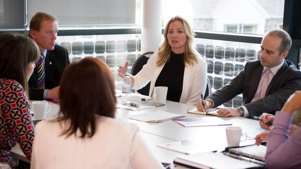 Michelle Mone at Pool Innovation Centre