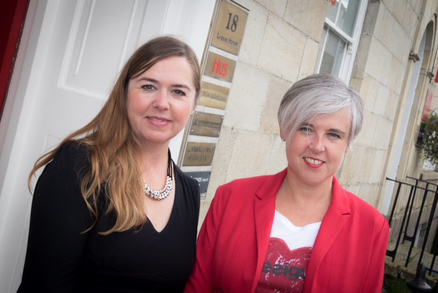 Nikki Baron and Ruth Sparkes