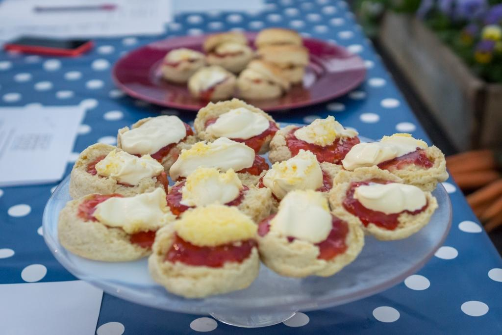 Speedily-prepared Cornish Cream Teas