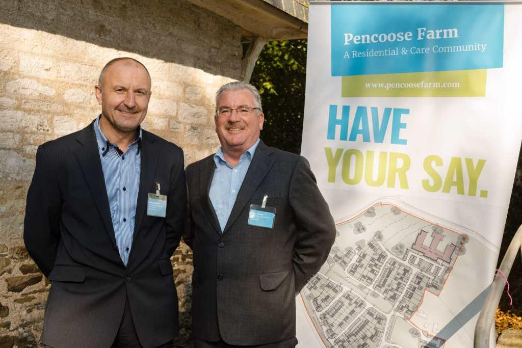 Martin Birkett (left) and John Goode from Footsteps Investments