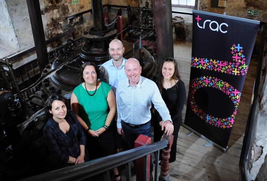 (L-R): Sophie Brand, Sarah Trethowan, Graham Donaldson, Jonathan Trethowan and Claire Pomeroy
