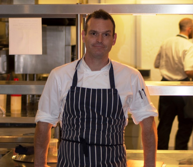 New head chef David Williams