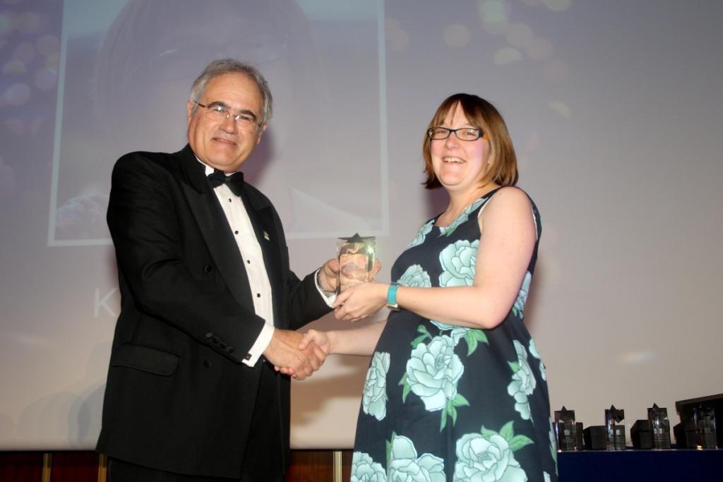 Kirsty TOPRA Award