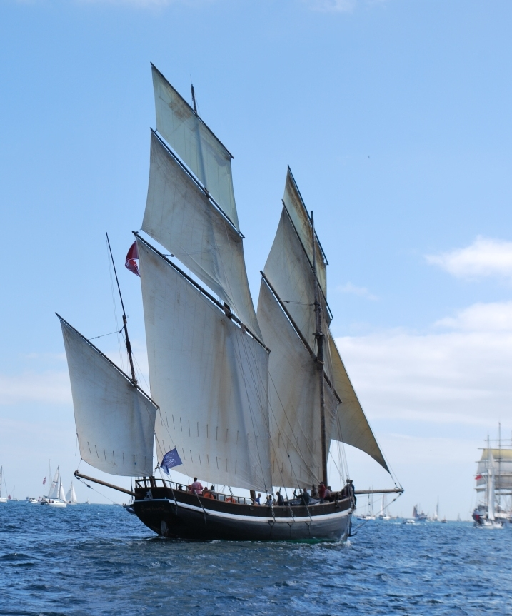 Photo A - Grayhound sailing ship - by Becky Treneer (2)