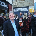John Harvey outside The Cornish Food Box which provided the launch venue