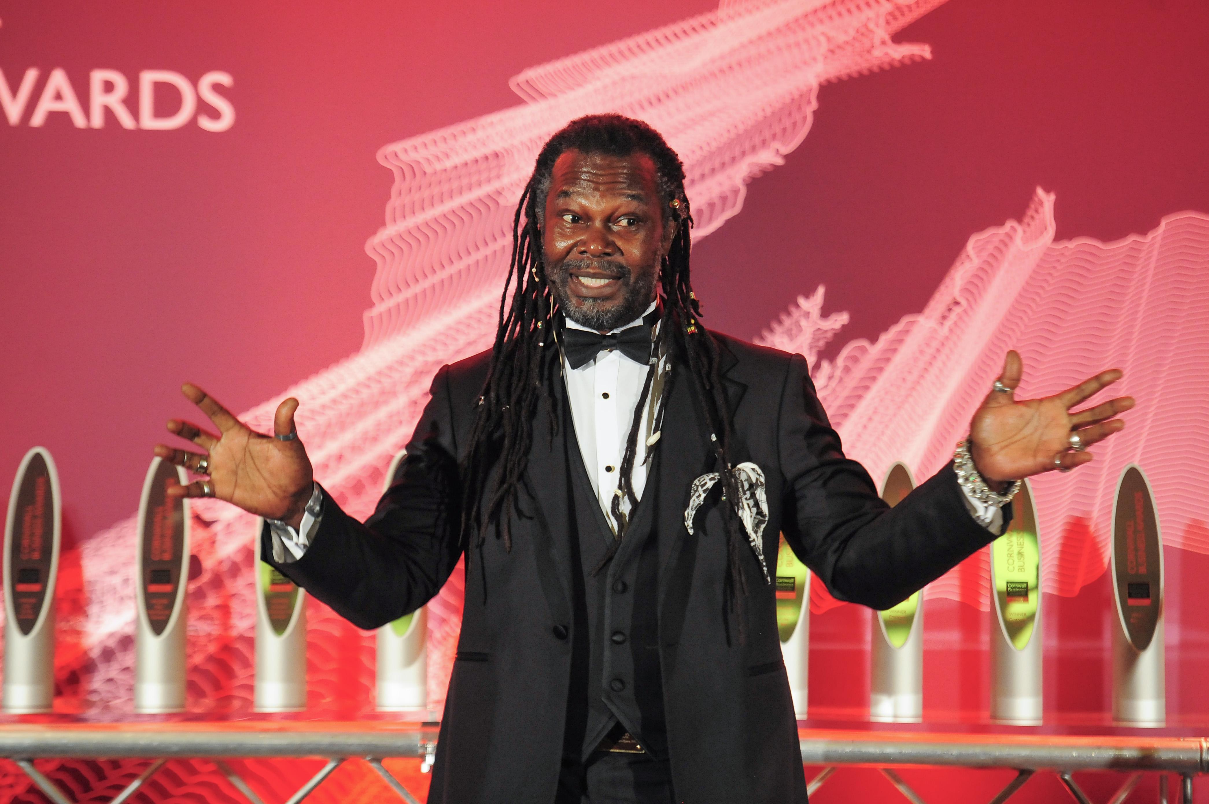 Celebrity speaker, Levi Roots