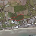 Aerial image – Penzance Heliport proposed site