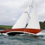 Altricia sea trials in Carrick Roads