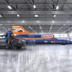 Andy Green with the Bloodhound SSC