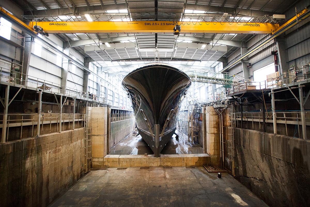 Aquila Pendennis Refit - Pendennis Dry Dock_1.0