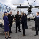 Prime Minister Visits Newquay Airport