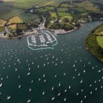 MYH Aerial2 Mylor Marina's potential new outline