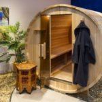 heat room spa garden