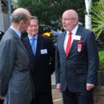 HRH The Duke of Kent meets CMN Chairman Michael Brougham & CEO Paul Wickes