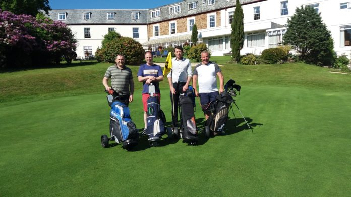 Golf marathon for charity business cornwall for Gardner golf course