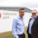 Julian Hocking from Nationwide Print with Steve Edwards from Superfast Business Cornwall