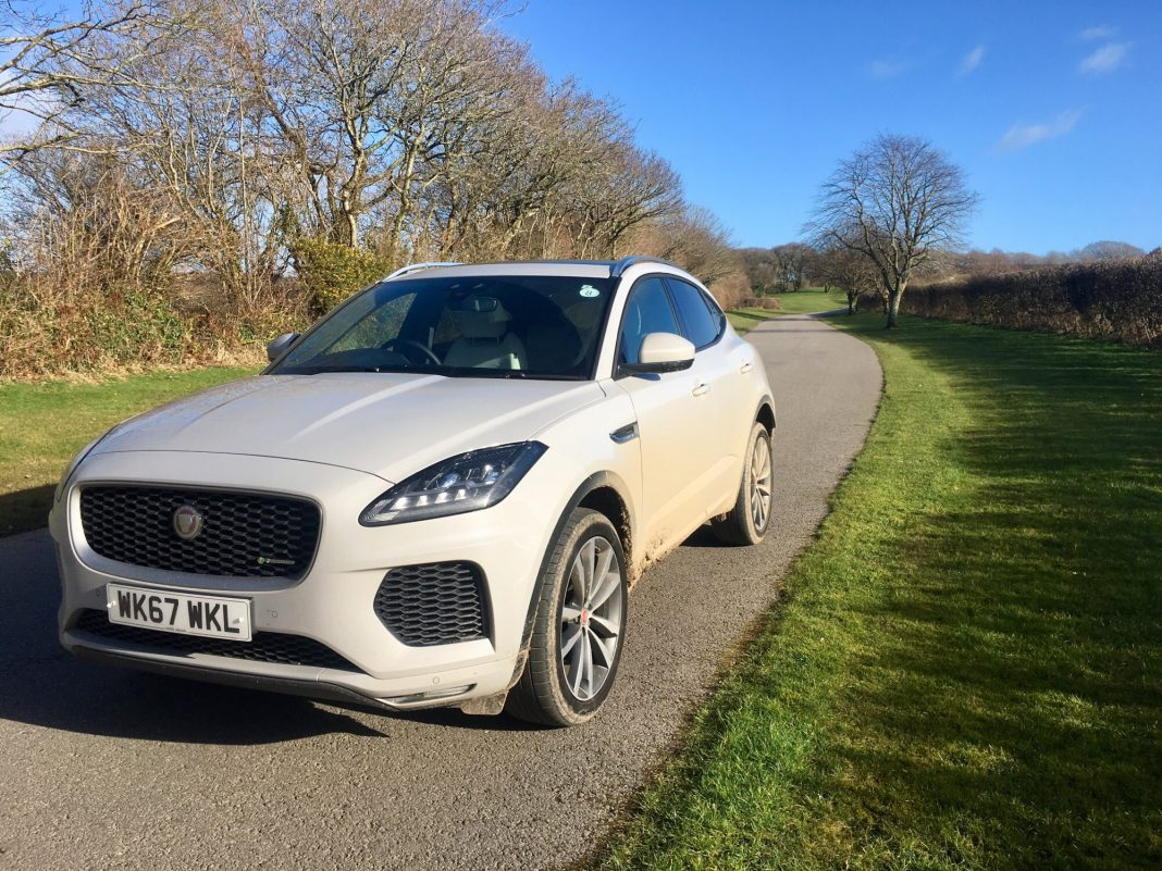 test drive jaguar e pace business cornwall. Black Bedroom Furniture Sets. Home Design Ideas