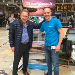 Richard Wilcox BID Manager with Neil Warnock Cardiff City FC Manager1