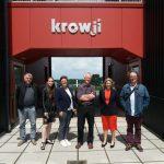Morlaix delegation at Krowji May 2018