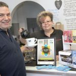 Sharron Lipscomb-Manley and Scott Manley of Delight 2 Bite with their Silver Fairtrade award