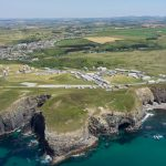 Bruton Knowles – Holywell Bay Aerial Photography – by DroneScope – 06
