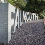 Falmouth University Landmark sign web