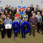 90th birthday cake and balloons V2