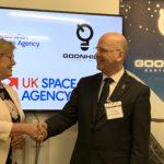 Dr Megan Clark AC and Ian Jones – Goonhilly partners with ASA