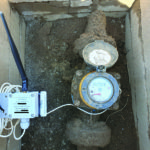 HR VerF- Water meter pulse counter