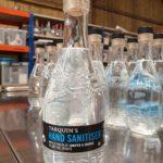 Tarquin's Hand San on the bottling line