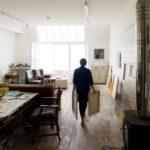 Naomi Frears in her Porthmeor studio_image credit Steve Tanner MR